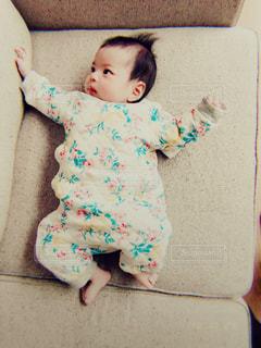 赤ちゃんの写真・画像素材[2438084]