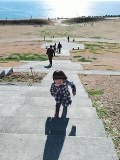 公園の階段の写真・画像素材[2743863]