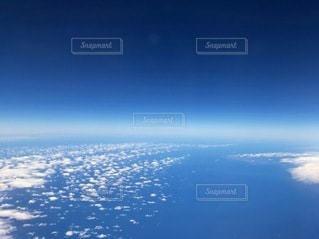 飛行機からの景色の写真・画像素材[3340119]