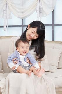 仲良し親子の写真・画像素材[2366089]
