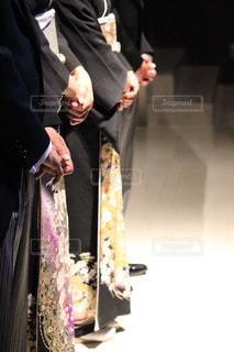 スーツとネクタイを身に着けている男の写真・画像素材[1230678]