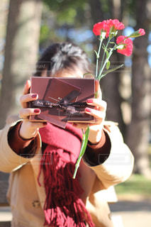 バレンタインの写真・画像素材[2833535]