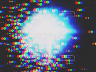 雨の電燈の写真・画像素材[2377570]