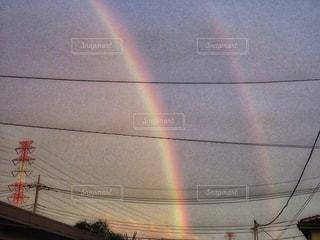 空の虹の写真・画像素材[2508726]