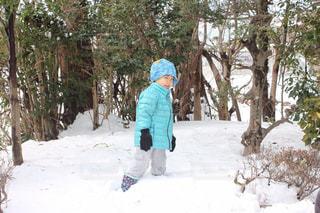 雪遊びの写真・画像素材[2680776]