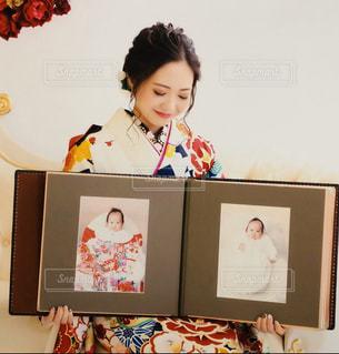 成人式を迎えた娘の写真・画像素材[2924217]