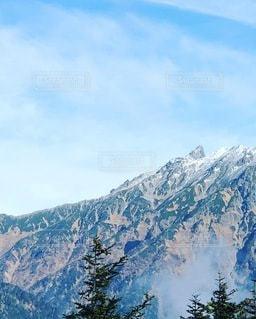穂高山頂より槍ヶ岳の写真・画像素材[3577511]
