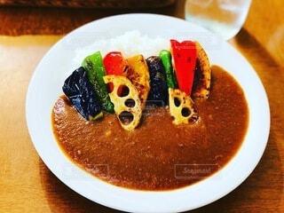 焼き野菜カレーの写真・画像素材[3722676]