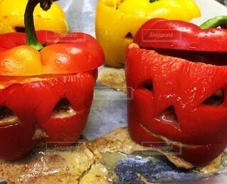 トマトのクローズアップの写真・画像素材[3748995]