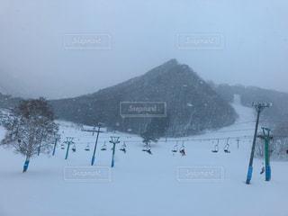 女性,男性,子ども,家族,恋人,友だち,1人,2人,3人,5人以上,自然,風景,アウトドア,空,スポーツ,雪,屋外,霧,山,人物,スキー,ゲレンデ,レジャー,スキー場,スノーボード,斜面,日中,吹雪