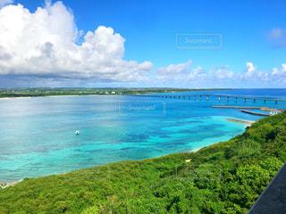 宮古島の海と空の写真・画像素材[2428270]