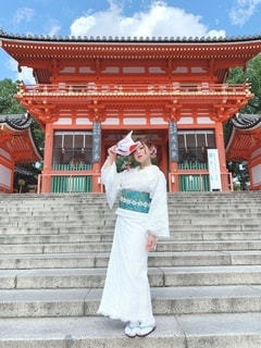 京都 八坂神社前⛩の写真・画像素材[3542553]
