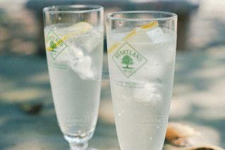コップ一杯の水の写真・画像素材[3047548]