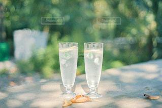 ワインを一杯飲むの写真・画像素材[3141887]