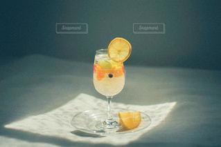 ワインを一杯飲むの写真・画像素材[3147825]