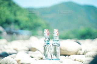 瓶のクローズアップの写真・画像素材[3240690]