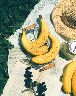 食べ物,朝食,ジュース,果物,ピクニック,朝,バナナ