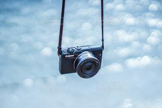 曇った青空の写真・画像素材[3378777]