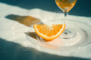 ワインを一杯飲むの写真・画像素材[3842134]