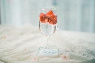 ワインを一杯飲むの写真・画像素材[4719065]