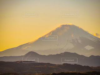 風景,空,富士山,屋外,太陽,夕暮れ,山,光,富士,フジヤマ