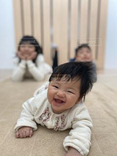 かわいい笑顔の子供たち🥰の写真・画像素材[2916973]
