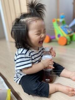 爆笑の写真・画像素材[4108477]
