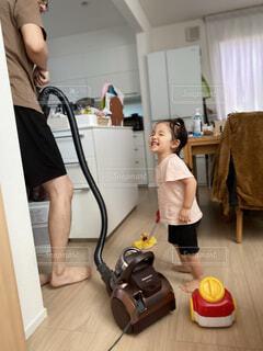 お掃除の写真・画像素材[4827629]