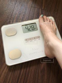 体重計の写真・画像素材[2359793]