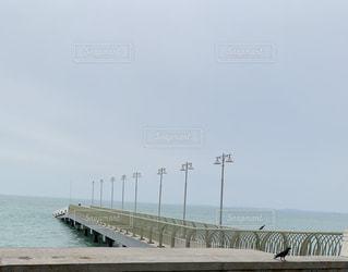 桟橋、何処への写真・画像素材[2355659]