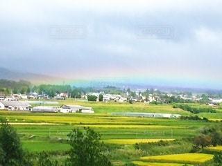 虹が出来た瞬間の写真・画像素材[2509039]
