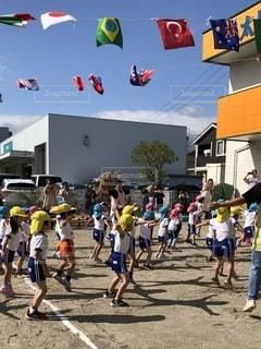 運動会の写真・画像素材[2609504]