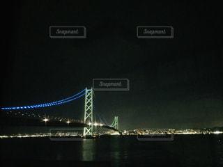 水域に架かる橋の写真・画像素材[2367516]