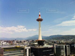 京都タワーの写真・画像素材[2396426]