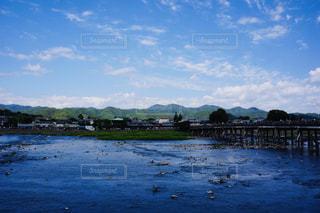 嵐山の渡月橋の写真・画像素材[2397175]