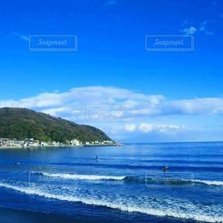 日本の海と空の写真・画像素材[2359607]