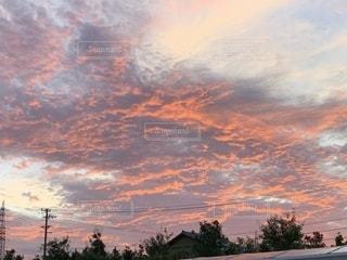 雲燃ゆるの写真・画像素材[2422624]