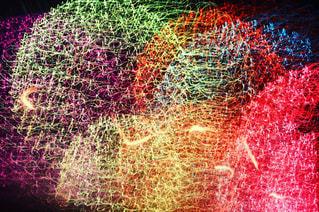 空に打ち上げられた花火の写真・画像素材[2365690]