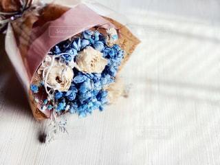 ドライフラワーの花束の写真・画像素材[3084318]
