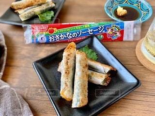魚肉ソーセージレシピの写真・画像素材[3742124]