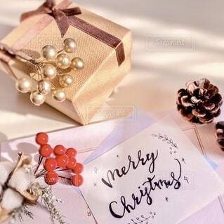 クリスマスプレゼントの写真・画像素材[3973635]