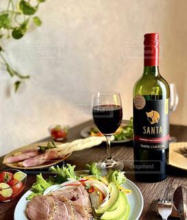 サンタカロリーナワインの写真・画像素材[4310548]