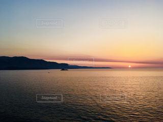アドリア海の夕日の写真・画像素材[2368947]