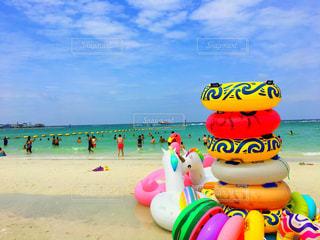 パタヤビーチの写真・画像素材[2374577]