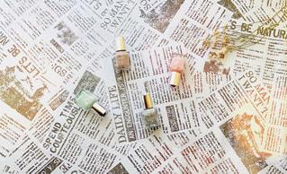 新聞のクローズアップの写真・画像素材[3154393]