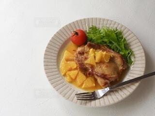 食べ物,オレンジ,皿,鶏肉,料理のための清酒