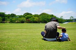 パパと娘の写真・画像素材[2370775]
