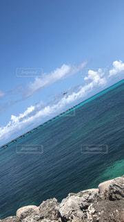 自然,海,空,屋外,ビーチ,飛行機,水面,海岸,日中