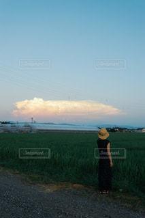 黄昏時の写真・画像素材[2419652]