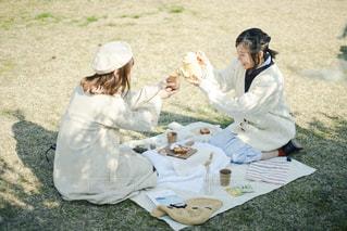 春のピクニックの写真・画像素材[3048292]